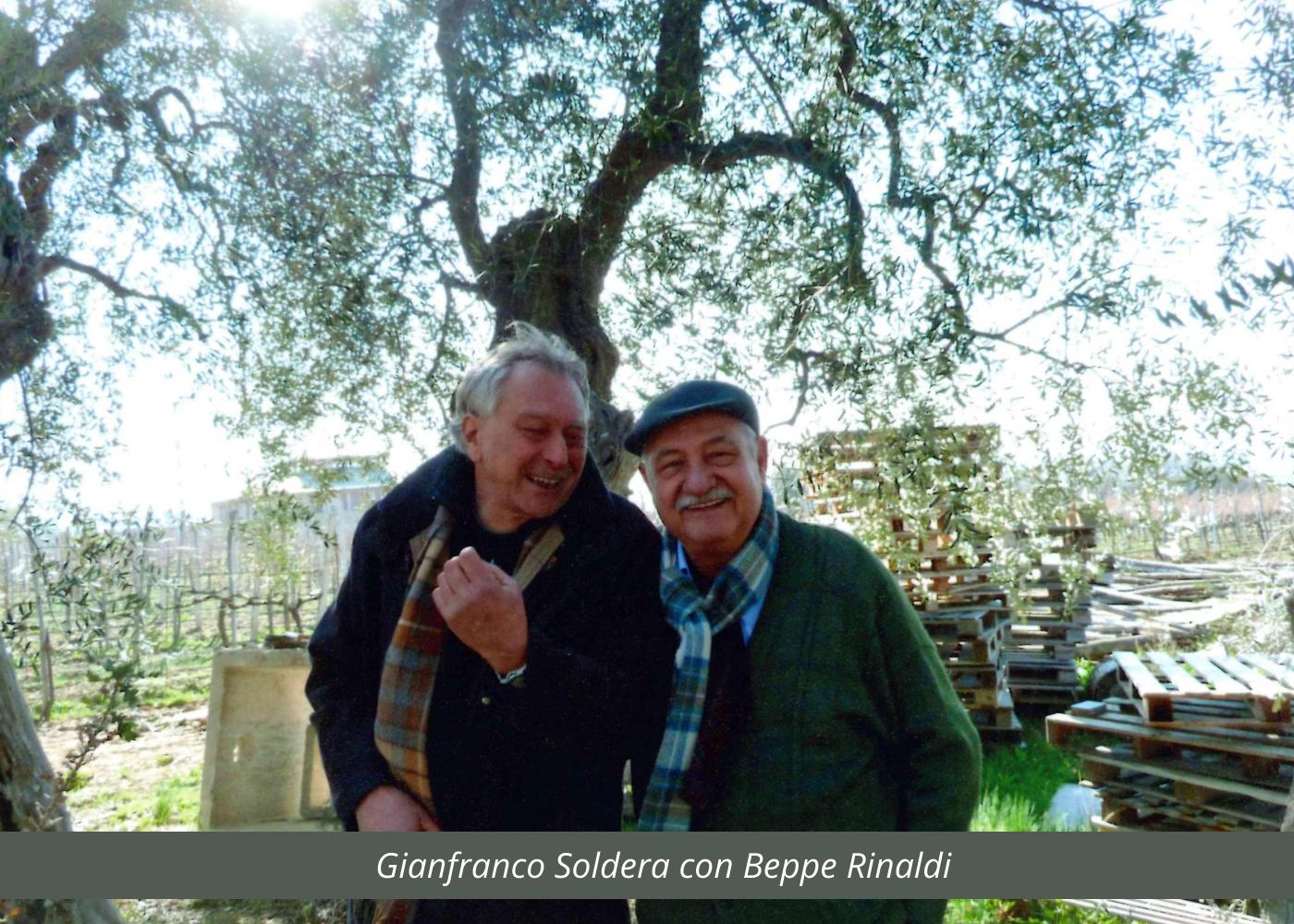 Beppe Rinaldi con Gianfranco Soldera (2)