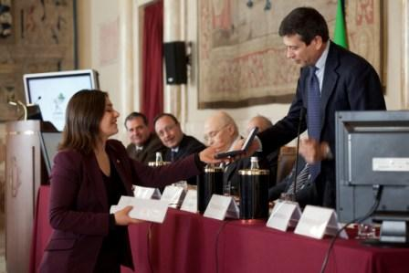 Cerimonia del premio Soldera per giovani ricercatori Ed. 2011
