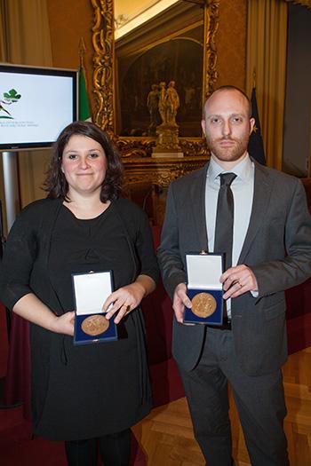 Cerimonia del premio Soldera per giovani ricercatori Ed. 2012